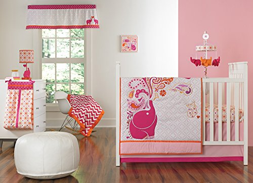 Pink 4 Piece Crib - 6