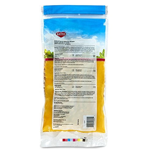 Kaytee Spray Millet For Birds, 12 Count (Pack of 1) (Packaging may Vary)