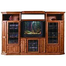 "Forest Designs Traditional Oak Adjustable Shelf (Shelf only), 43""W-70""W, Whitewash Oak"