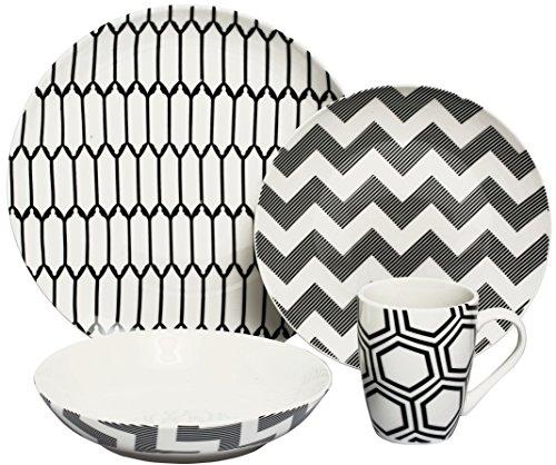 Melange Impressions Porcelain Setting Dinnerware