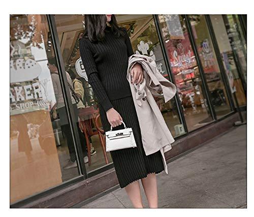 9 15 Cm Verde XUDRXY Versi/ón Coreana De La Mini Bolsa De Hombro Casual Para Mujer Paquete Diagonal Casual Salvaje 21