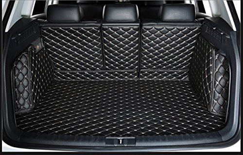 WillMax WillMaxMat Custom Fit Pet Trunk Cargo Liner Floor Mat for Acura RDX -Black w/ Gold Stitching price tips cheap