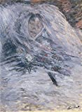 'Camille Monet On Her Deathbed, 1879 By Claude Monet' Oil Painting, 16x22 Inch / 41x55 Cm ,printed On Perfect Effect Canvas ,this Reproductions Art Decorative Canvas Prints Is Perfectly Suitalbe For Study Decor And Home Gallery Art And Gifts
