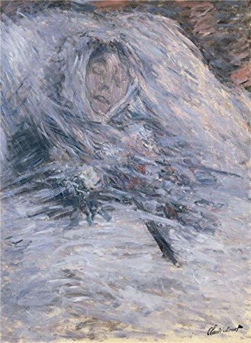 Amish Couple Halloween Costume (Oil Painting 'Camille Monet On Her Deathbed, 1879 By Claude Monet' Printing On Perfect Effect Canvas , 30x41 Inch / 76x104 Cm ,the Best Kitchen Decoration And Home Artwork And Gifts Is This Reproductions Art Decorative Prints On Canvas)