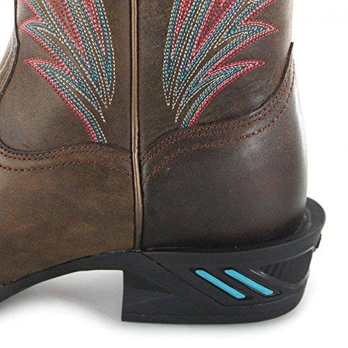 Fb Mode Støvler Ariat 23.163 Catalyst Prime Brune Western Ridestøvler Til Kvinder Brun Brune 2MQ9Udxa