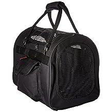 Prefer Pets 445051 Light Weight Soft Siided Pet Carrier, Black
