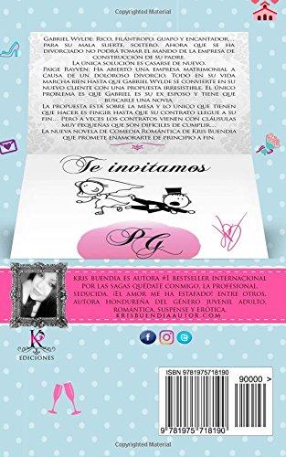 Amazon.com: Se busca novia Para mi ex (Spanish Edition) (9781975718190): Kris Buendia: Books