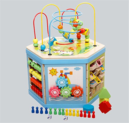 joyeee-creative-classic-wooden-8-in-1-bead-maze-activity-cube-play-center-perfect-christmas-gift-for