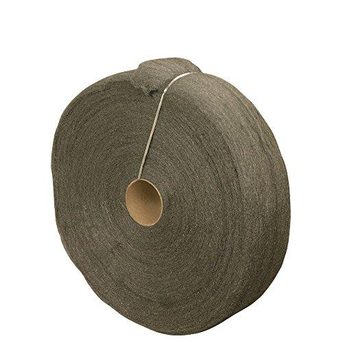 Wool Wax Steel (Steel Wool Reel, 5 lb, Medium Coarse Grade #2, Rhodes American, Surface Preparation)