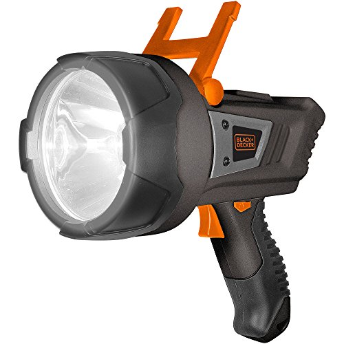 Black And Decker Rechargeable Spotlight - Lithium LED Spotlight, Black