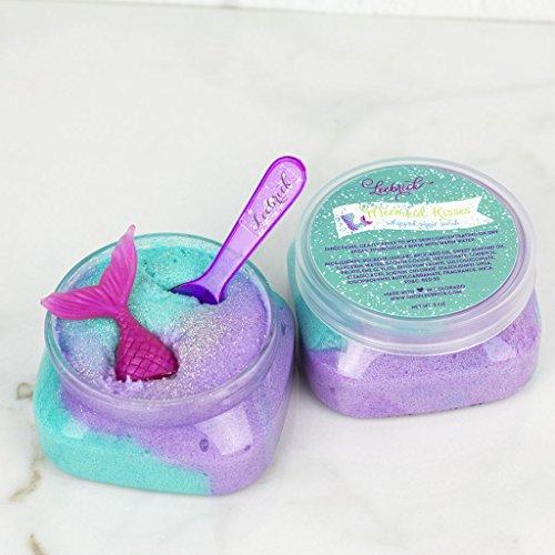Mermaid Sugar Scrub spa gift by Leebrick Candle Co.