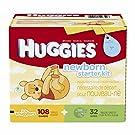 Huggies Little Snugglers Newborn Diapers and Gentle Wipes Kit - 108 newborn diapers & 32 baby wipes