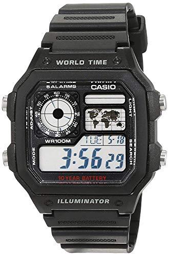 🥇 Casio–Reloj de Cuarzo para Hombre
