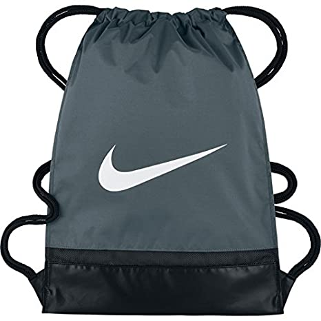65de9017c3 Nike Brasilia Gym Sack, Sacca per La Palestra Uomo, Grigio (Flint Grey/