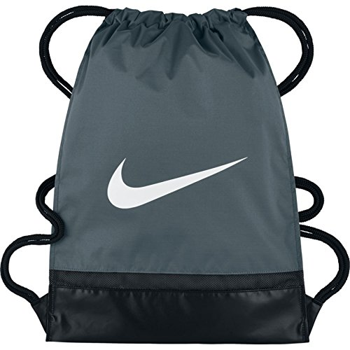 Nike Nk Brsla Gmsk Bolsa de Cuerdas, Hombre, Gris (Flint Grey/Black/White), Talla Única