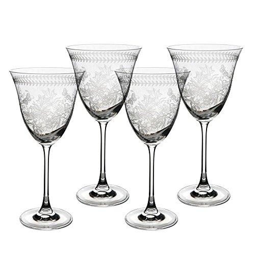 Portmeirion Botanic Garden - Wine Glasses Set of 4 (Pack of - Lewis John Wine Glasses