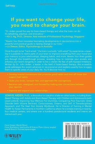 Rewire Your Brain Think Way To A Better Life Amazonde John B Arden Fremdsprachige Bucher