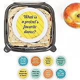 Kid's Lunch Box Jokes - Talk Bubble Stickers - Set of 8