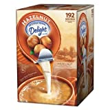 International Delight - Flavored Liquid Non-Dairy Coffee Creamer, Hazelnut, .44 oz Cups, 192 Cups/Carton 827965 (DMi CT