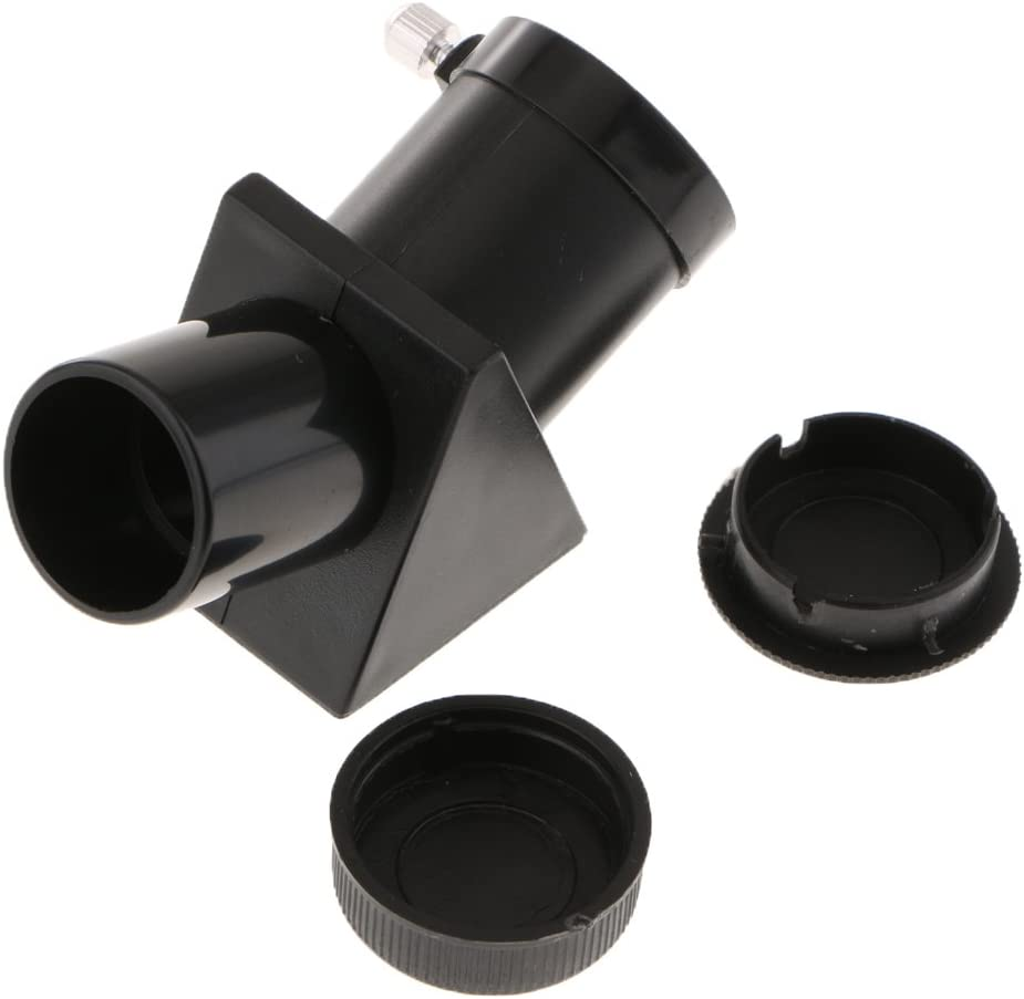 MagiDeal Telescope Erecting Prism for Refractor Eyepiece Star Diagonal Mirror 0.965inch Interface Universal