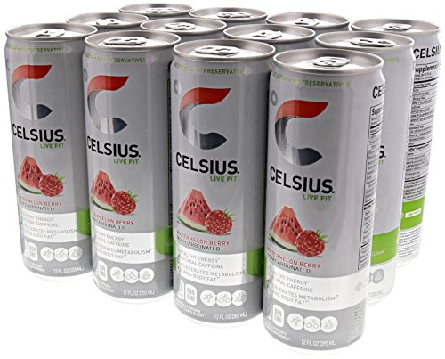 Celsius Natural Fitness Energy Watermelon