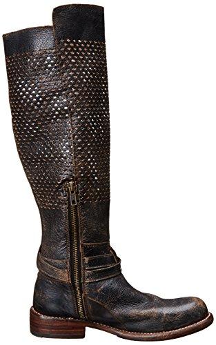 mujer Bed botas de Biltmore la Negro Stu motocicleta wHRYrqHO
