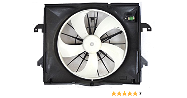 Dual Radiator and Condenser Fan Assembly-Fan Assembly APDI 6015103