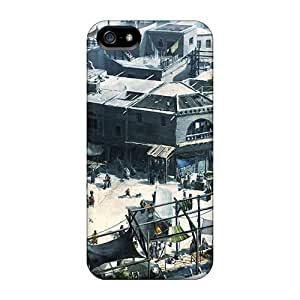 Premium Assassins Creed Brotherhood City Back Cover Snap On Case For Iphone 5/5s