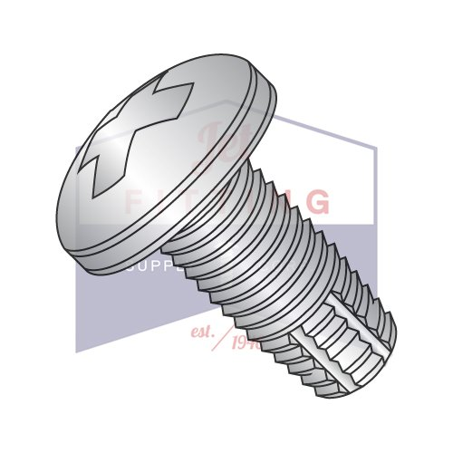 3/8-16X1 Type F Thread Cutting Screws | Phillips | Pan Head | 18-8 Stainless Steel (QUANTITY: 400) by Jet Fitting & Supply Corp