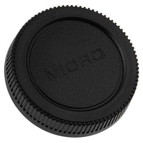 Fotodiox 10CAP-M43-R Rear Lens Cap for Micro 4/3 (Micro Four Third Lens, MFT), fits Olympus PEN and Panasonic Lumix