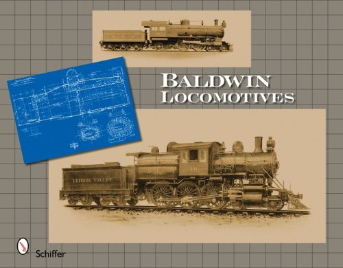 Baldwin Locomotives from Brand: Schiffer Publishing