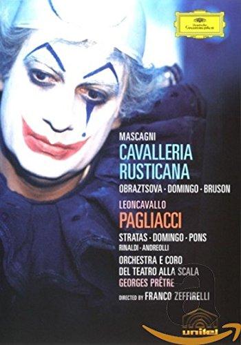 Leoncavallo - I Pagliacci / Mascagni - Cavalleria Rusticana / Domingo, Stratas, Pons, Bruson, Obraztsova, Pretre by Unknown