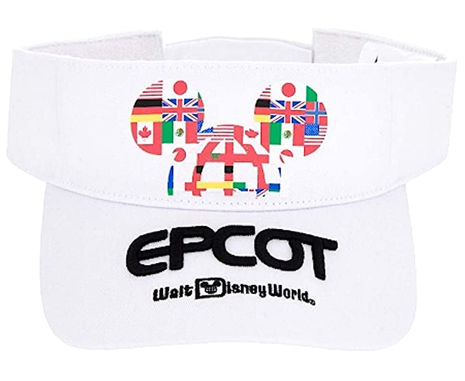 Image Unavailable. Image not available for. Color  Disney Parks Epcot Sun  Visor Hat Mickey ... d837f4e48a9