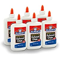 6-Pack Elmer's Liquid Washable School Glue (7.625 Ounces)