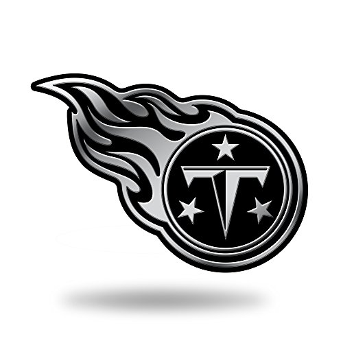 (Rico Industries NFL Tennessee Titans Chrome Finished Auto Emblem 3D Sticker)