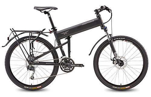 Montague Bike Folding (Montague Paratrooper PRO 27 Speed Folding Mountain Bike Large - 20