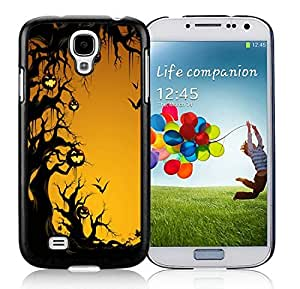 Personalized Samsung S4 TPU Protective Skin Cover Halloween Black Samsung Galaxy S4 i9500 Case 12
