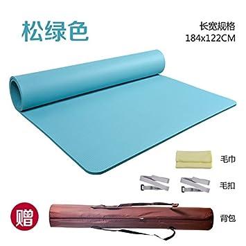 YOOMAT Doble Esterilla de Yoga Fitness Mat, Ampliar y Crecer ...