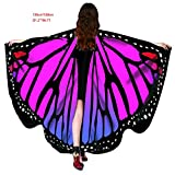 Halloween Party Soft Fabric Butterfly Wings Shawl