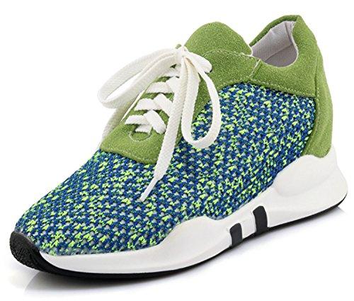 Compensées 36 Femme Sandales Vert 5 DoraTasia Green Zw6Pq5