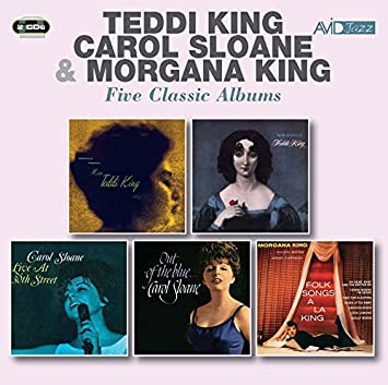 teddi king carol sloane morgana king five classic albums