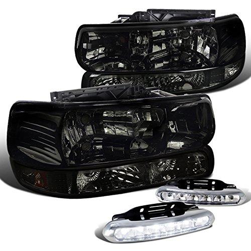 1999 silverado halo headlights - 9