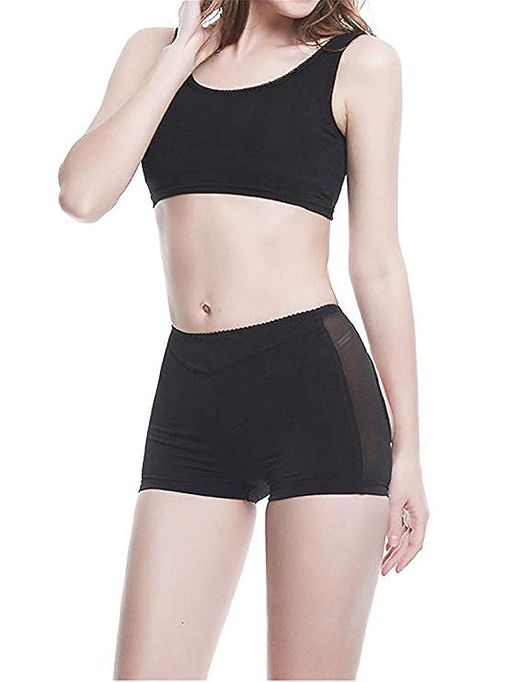 Women Seamless Butt Lifter Body Shaper Tummy Control Lift Girdle Panties Boyshorts Shapewear Underwear Boy Short Briefs