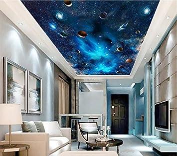 Weaeo Personnalisé 3D Peintures Murales De Plafond Papier Peint La