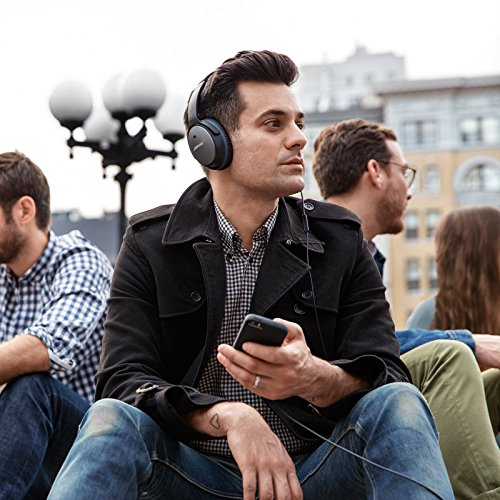 017817652520 - Bose QuietComfort 25 Acoustic Noise Cancelling Headphones for Apple Devices, Black carousel main 9