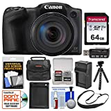 Canon PowerShot SX420 is Wi-Fi Digital Camera (Black) with 64GB Card + Case + Battery & Charger + Flex Tripod + Sling Strap + Kit Review