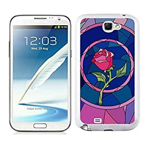 Personalized Beauty And The Beast Belle Rose Diy For SamSung Galaxy S5 Mini Case Cover in White
