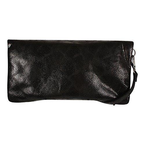 Ronja Clas Snake cm Clutch Noir aus 29 Pochette Femme Fritzi Preußen qCHERntSw
