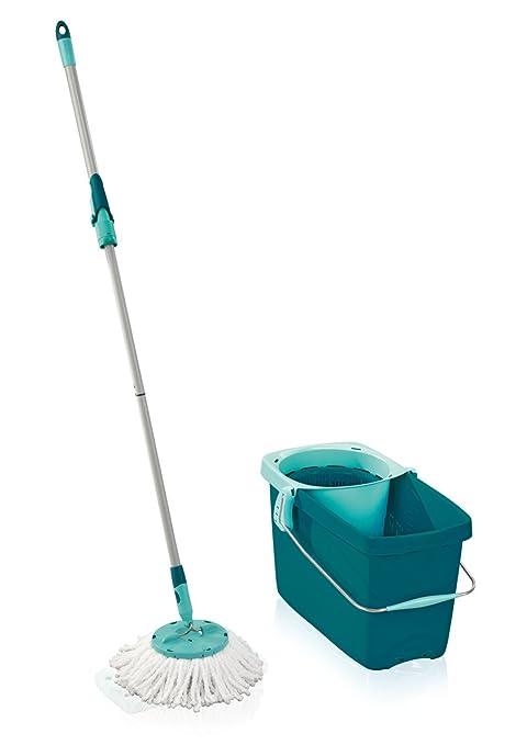 31 opinioni per Leifheit Set Clean Twist Disc Mop, con Tecnologia a Centrifuga, Turchese