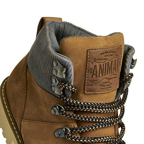 Animal Golden Brown Heathe Animal Boots Golden 6xp71q
